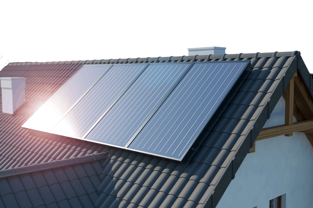 What is the history of solar energy and when were solar panels invented?